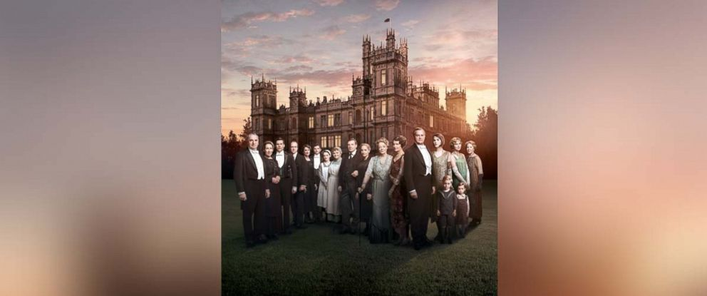 """PHOTO: The cast of """"Downton Abbey"""" is pictured in this undated photo."""
