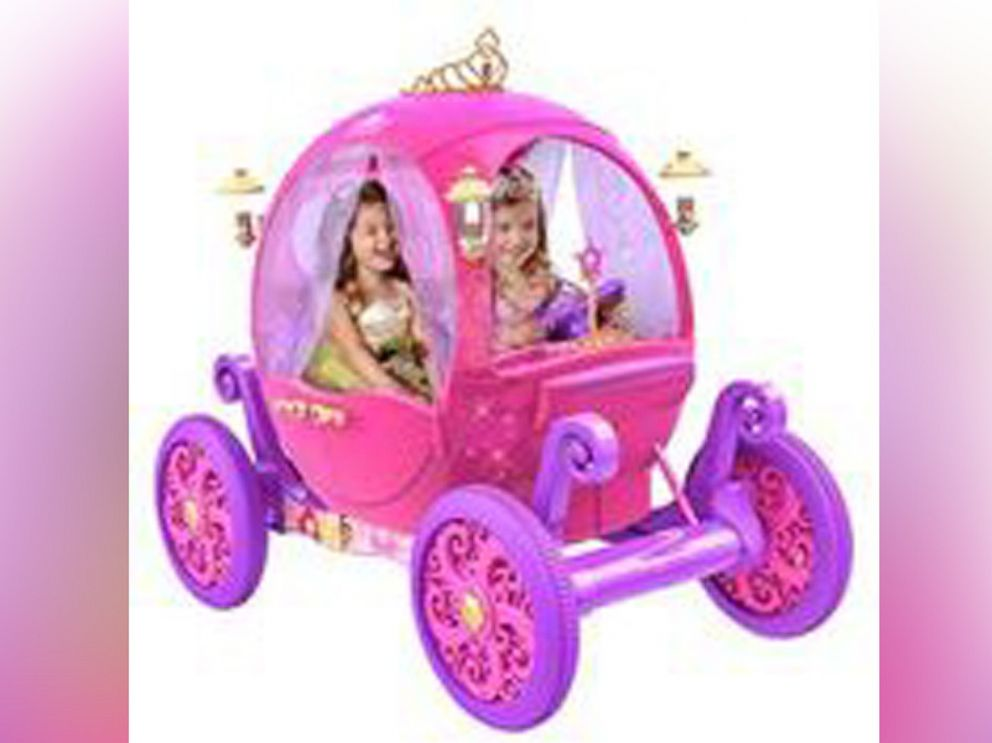 PHOTO: Disney Princess Carriage electric vehicle from Dynacraft