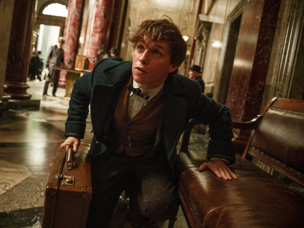 PHOTO: In this undated photo, Eddie Redmayne as Newt Scamander in Warner Bros. Pictures fantasy adventure FANTASTIC BEASTS AND WHERE TO FIND THEM, a Warner Bros. Pictures release.