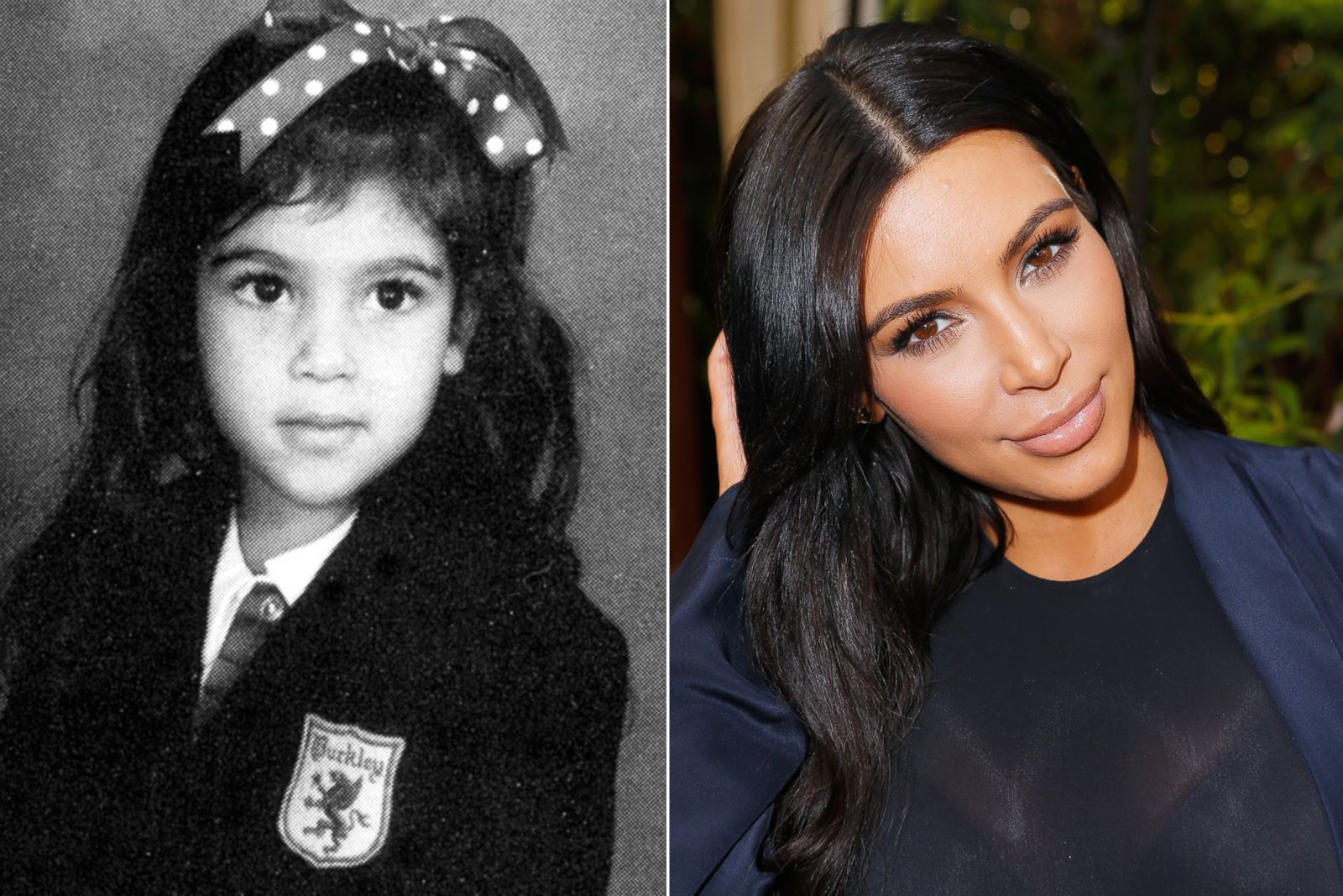 Kim Kardashian Picture Before They Were Famous Abc News