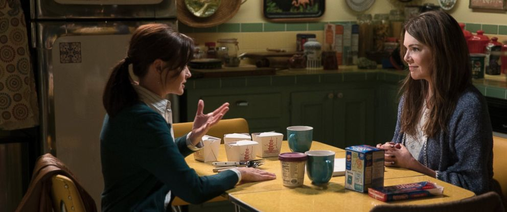 PHOTO: A production still from the the upcoming Netflix reboot of Gilmore Girls.