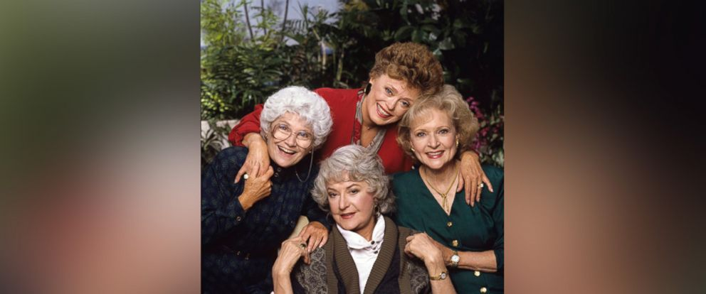 "PHOTO: ""The Golden Girls"" Estelle Getty, Rue McClanahan, Betty White, Bea Arthur are seen in this cast photo in 1988."