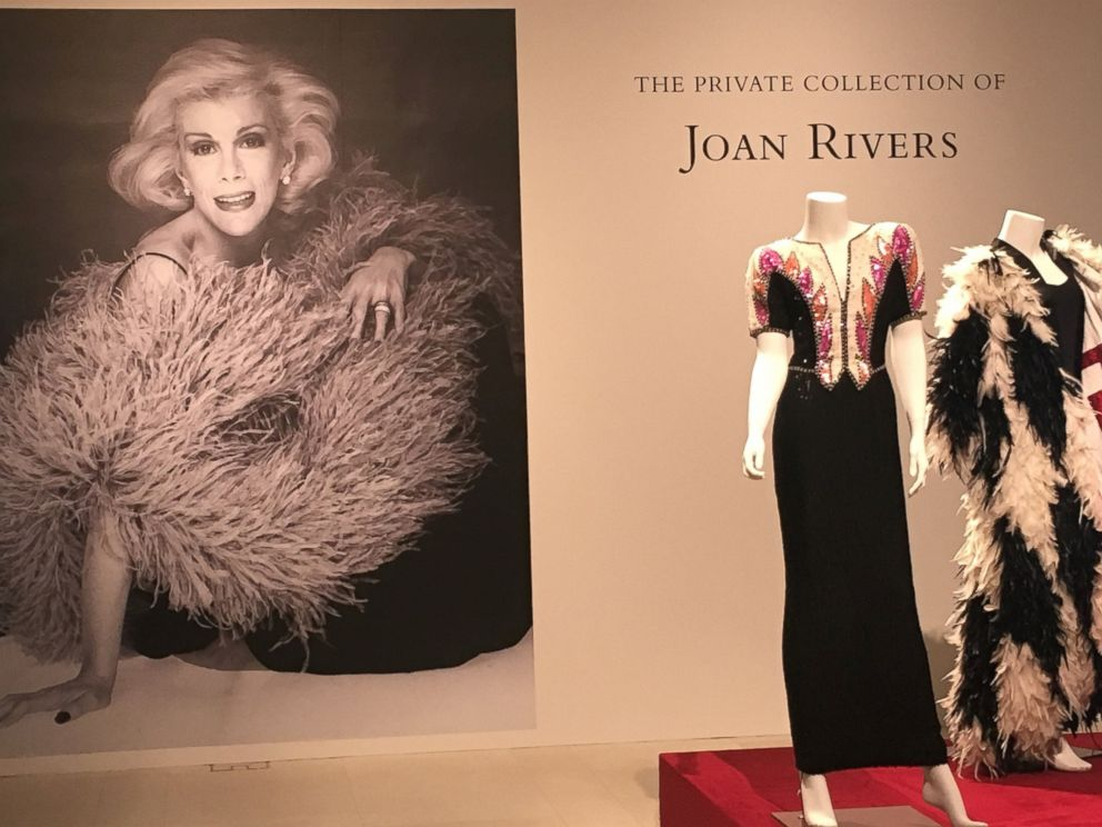 PHOTO: Christies is selling nearly 300 lots of Joan Rivers personal belongings.