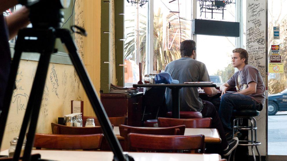 """The Hills"" star Spencer Pratt films a scene on March 1, 2007 in Los Angeles."