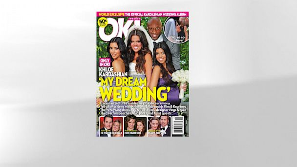 PHOTO: Lamar Odom and Khloe Kardashian wedding.