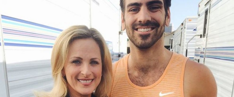 """PHOTO: Marlee Matlin stands alongside """"Dancing With the Stars Winner"""" Nyle DiMarco."""
