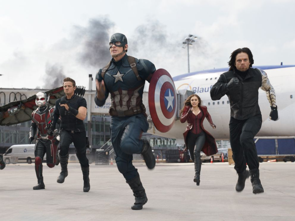 PHOTO: Marvels Captain America: Civil War.