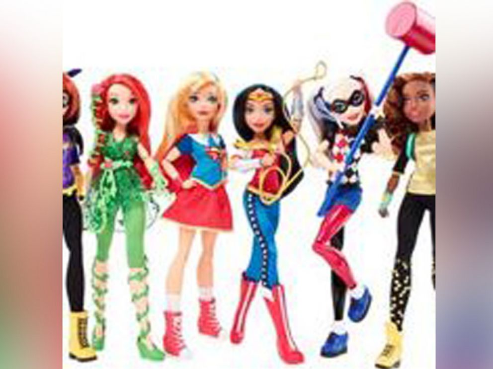 PHOTO: DC Super Hero Girls from Mattel