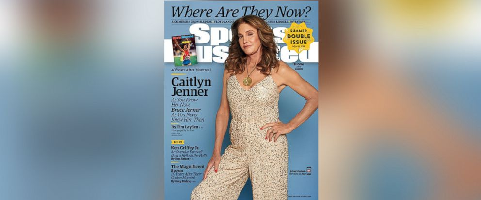 PHOTO: Caitlyn Jenner on the cover of Sports Illustrated.