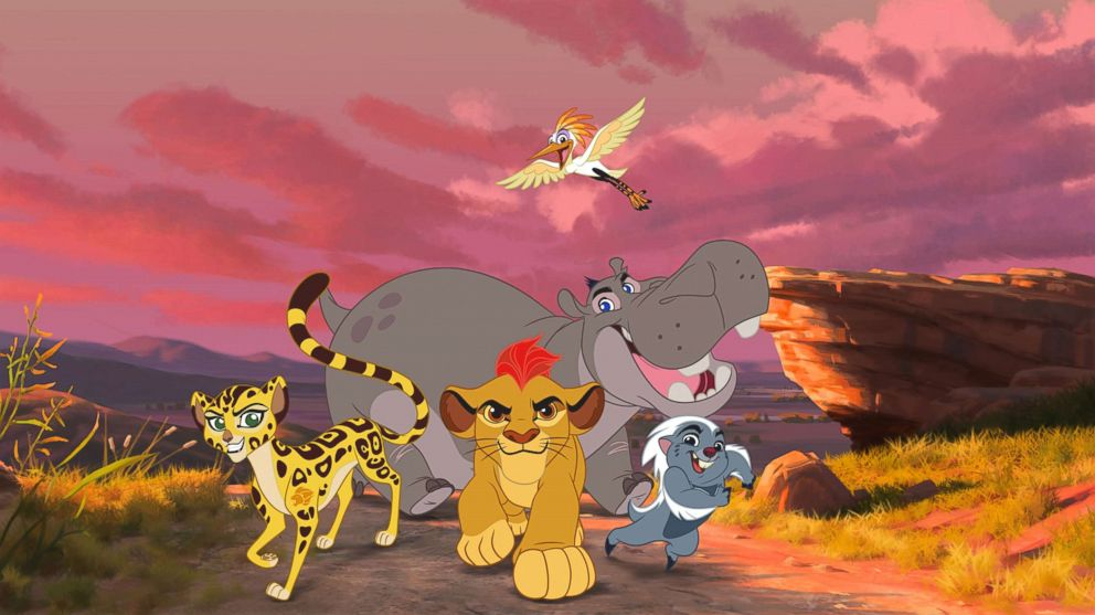 PHOTO: The cast of Disneys The Lion King are captured in this still image.