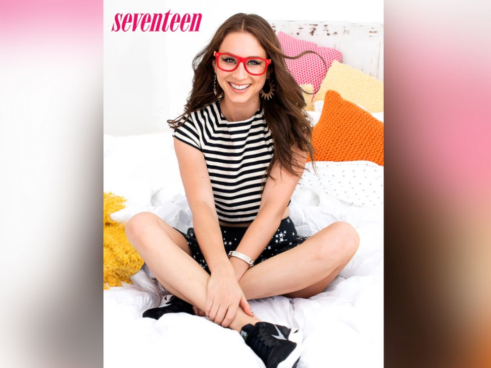 PHOTO: Troian Bellisario, star of ABC Familys Pretty Little Liars, appears on the cover of Seventeens February 2014 issue.