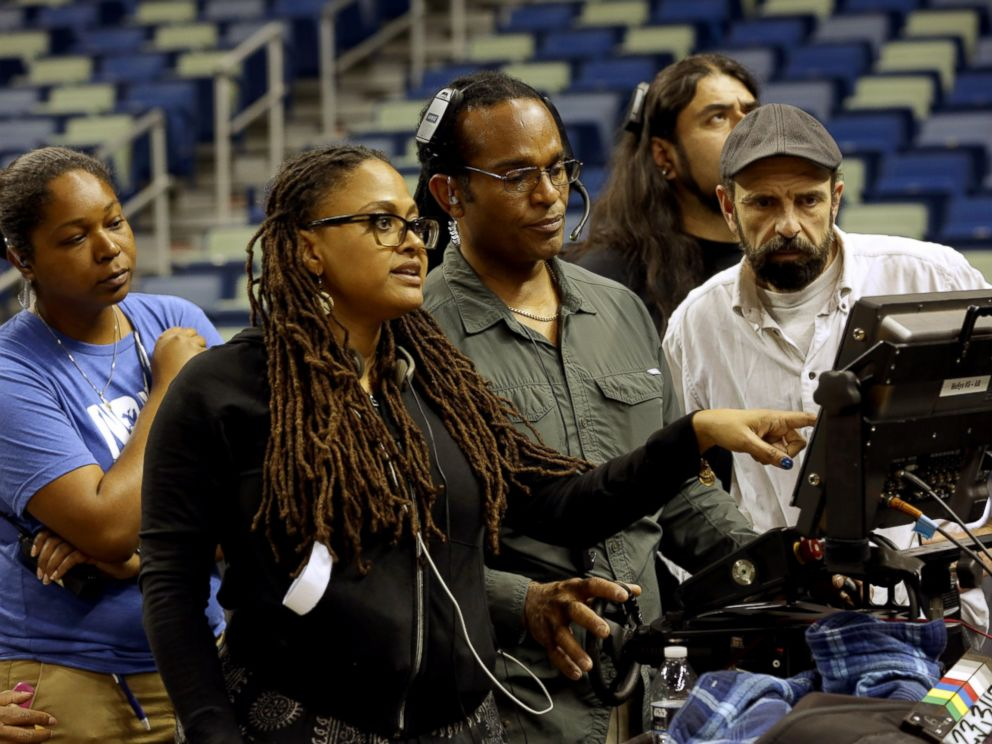PHOTO: Ava DuVernay, center, is seen directing a scene for Queen Sugar.