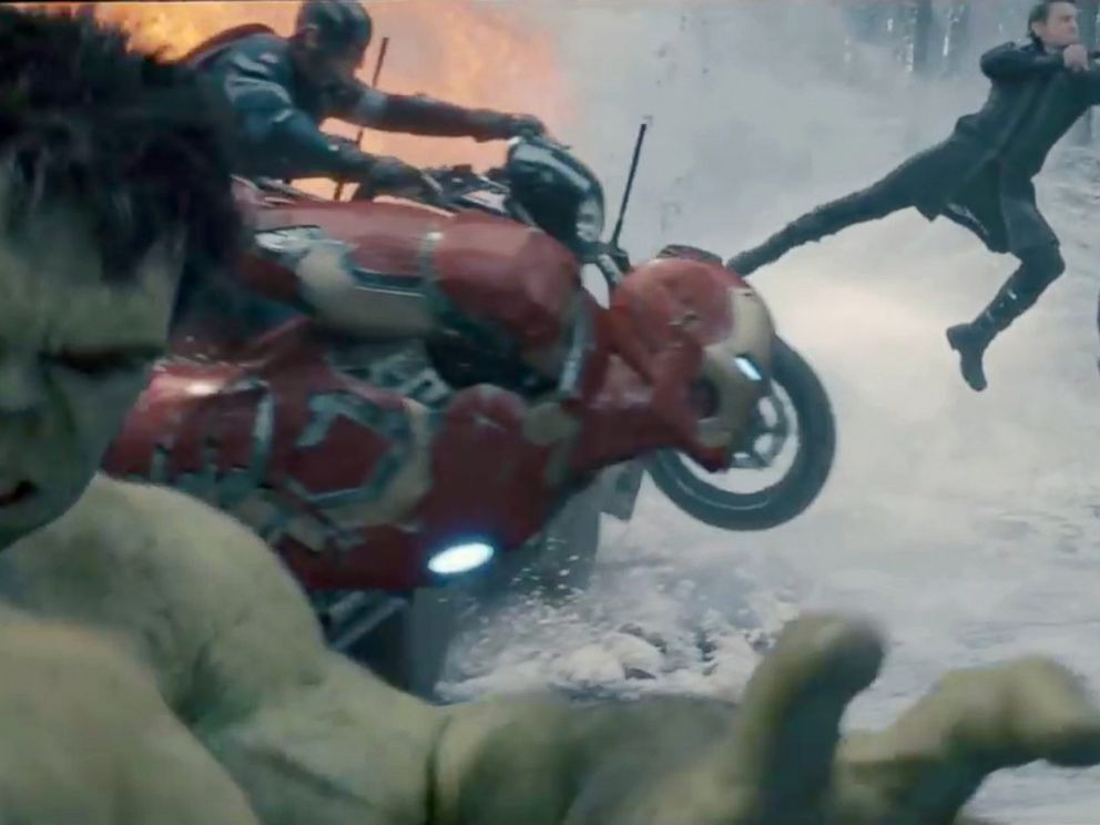 PHOTO: The Avengers team assembles in the latest trailer for Marvels Avengers: Age of Ultron.