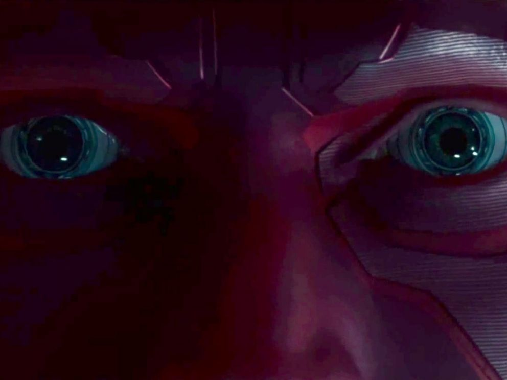 PHOTO: A look at Vision in the latest trailer for Marvels Avengers: Age of Ultron.
