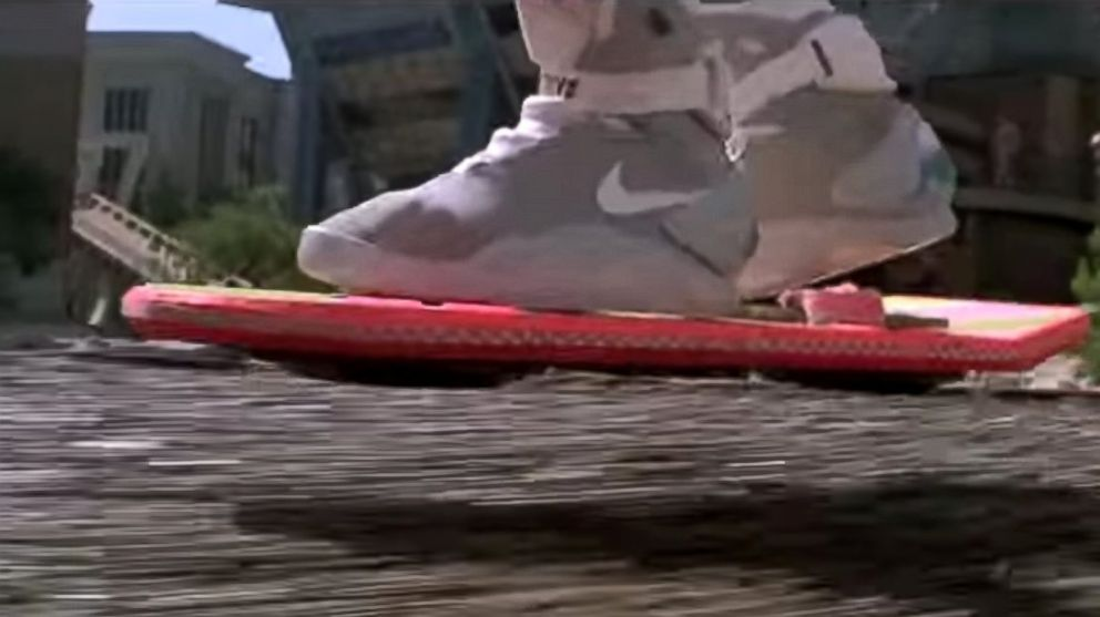 Nike Sending First  Back to the Future  Self-Tying Shoes to Michael ... 1f1620689