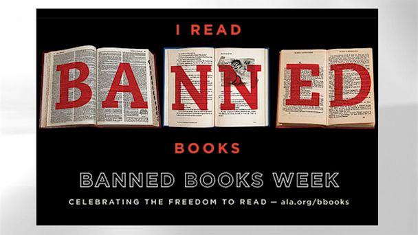 """PHOTO: """"Banned Books Week"""" celebrates the freedom to read: Sept. 22-28, 2013."""