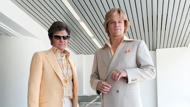 PHOTO: Michael Douglas and Matt Damon in Behind the Candelabra.