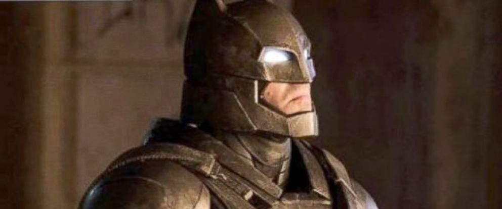 "PHOTO: Ben Affleck is as Batman in ""Batman v Superman: Dawn of Justice."""