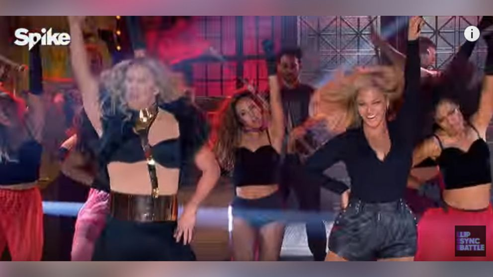 Beyonce Performs with Channing Tatum on 'Lip Sync Battle' (Full Video)