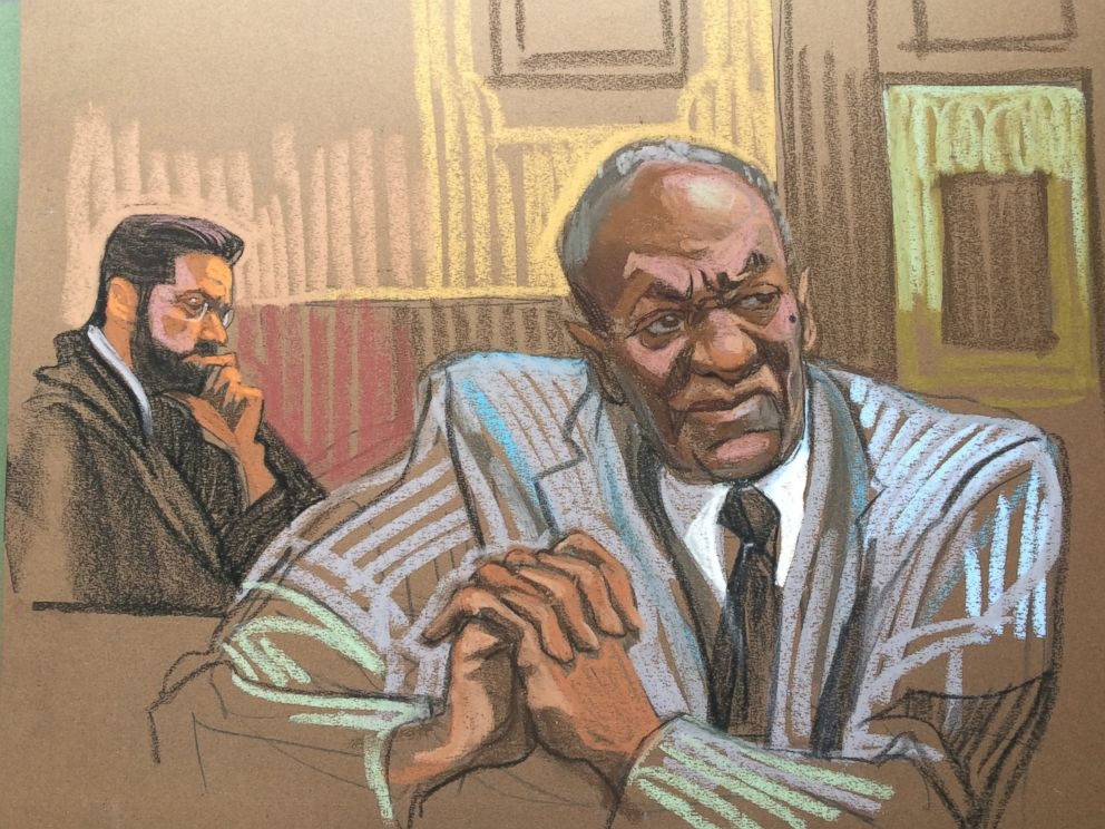 PHOTO: A courtroom sketch depicts Bill Cosby, Sept. 6, 2016 in Norristown, Pennsylvania.