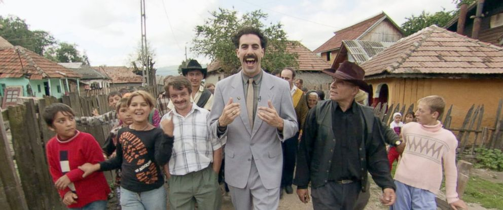 """PHOTO: Sacha Baron Cohen is seen here in """"Borat: Cultural Learnings of America for Make Benefit Glorious Nation of Kazakhstan."""""""