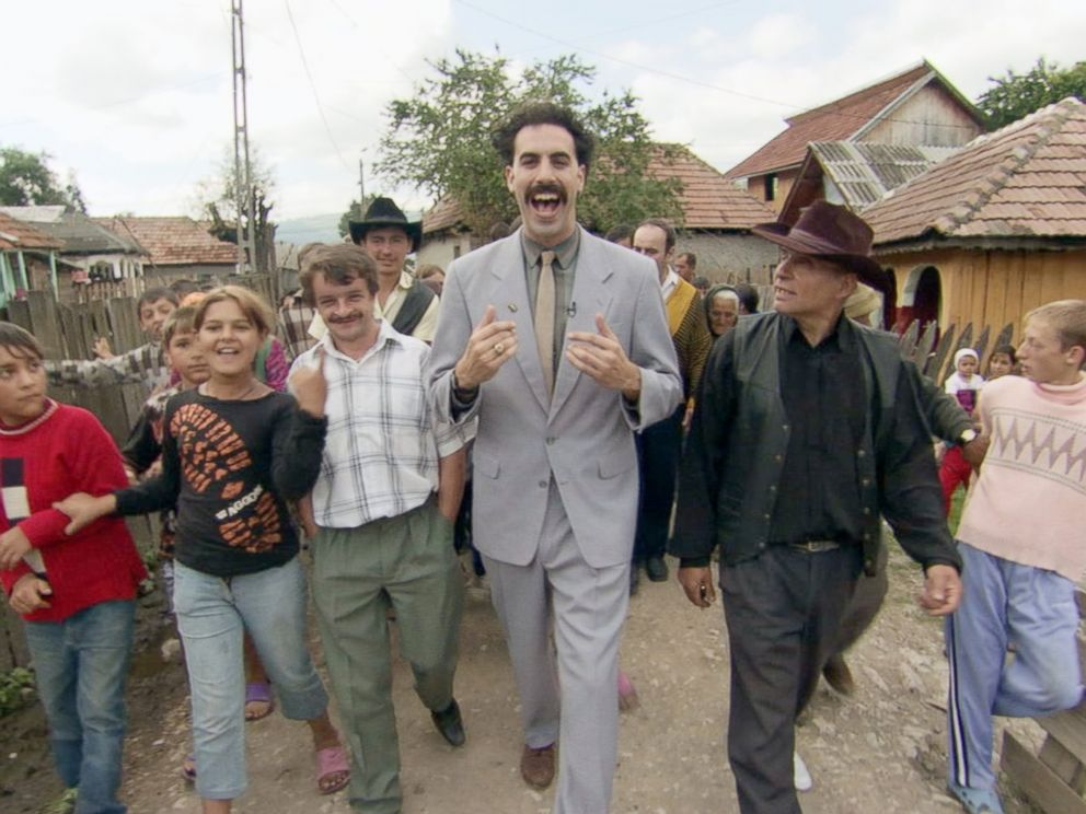 Borat Takes The World Stage In 2006