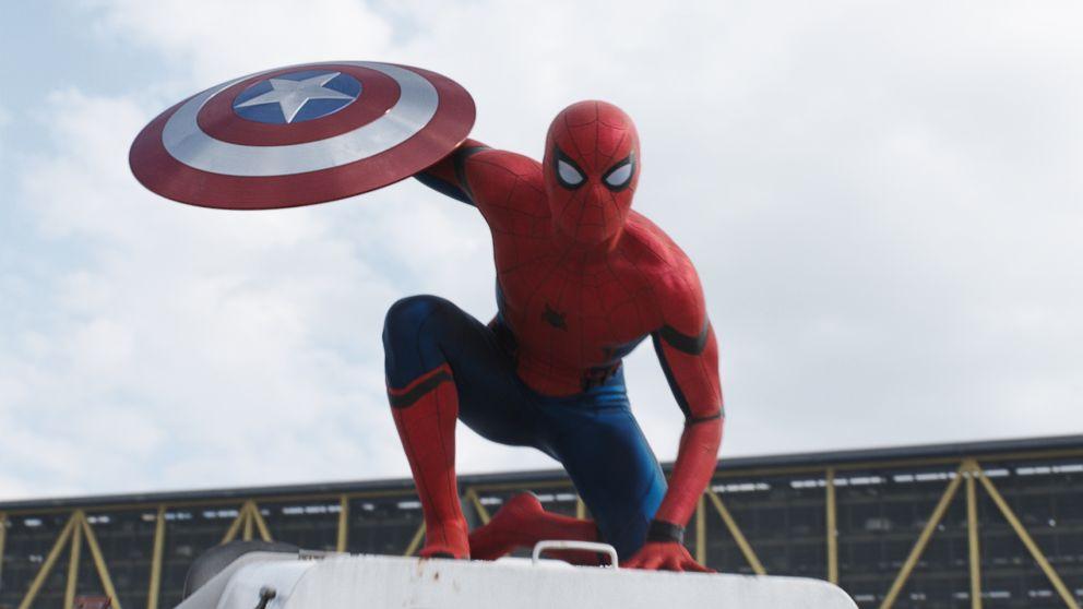 e4652e701fc New 'Captain America: Civil War' Trailer Features Spider-Man - ABC News