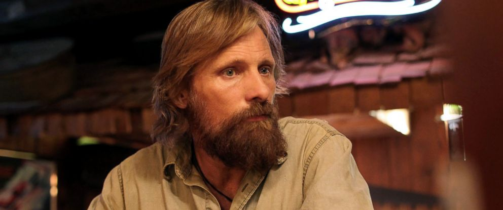 "PHOTO: Viggo Mortensen in a scene from ""Captain Fantastic."""