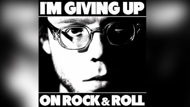 "PHOTO: Christopher The Conquered - ""Im Giving Up On Rock & Roll"""