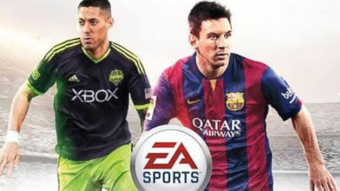 PHOTO: Clint Dempsey appears on the cover of FIFA 15.