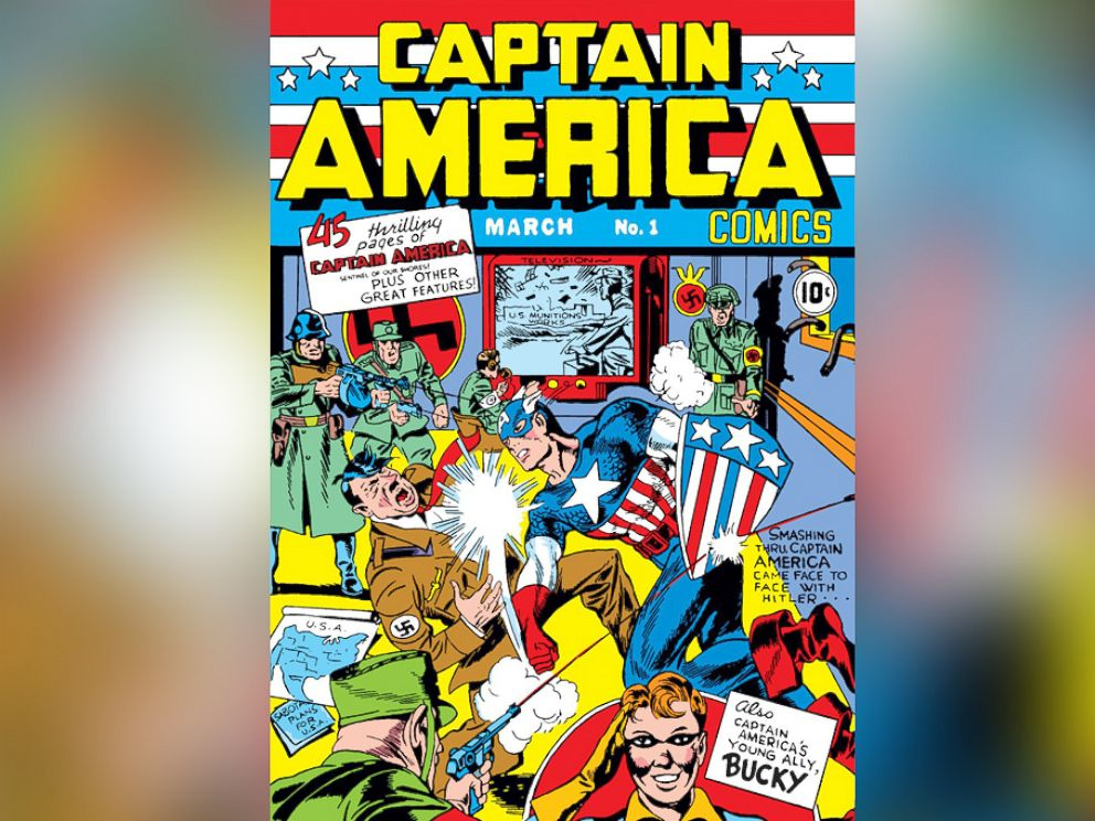 PHOTO: Captain America, aka Steve Rogers, and also referred to as the First Avenger, first appeared in Captain America Comics #1 in 1941.