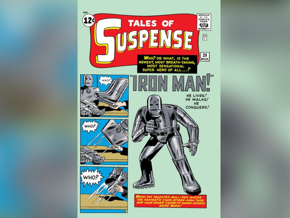 PHOTO: Long before Robert Downey Jr. took on the role of Tony Iron Man Stark, the metal man changed the face of comics forever by debuting in Tales of Suspense #39 in 1959.
