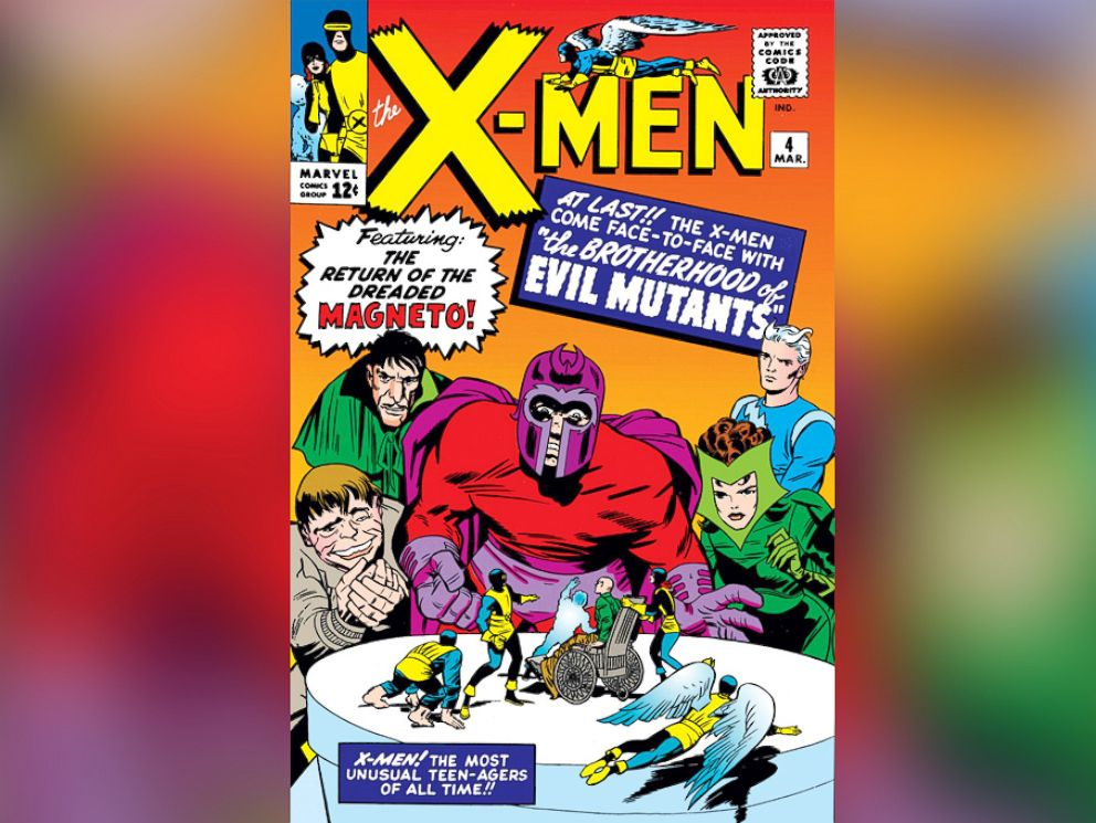 PHOTO: The Maximoff twins, Wanda and Pietro; Scarlet Witch and Quicksilver respectively, made their first appearance in 1964s X-Men #4 as members of the villainous Brotherhood of Evil Mutants.