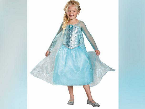 PHOTO: A girl dressed up in a Elsa costume is seen in the undated file photo.