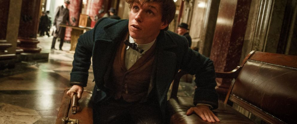 """PHOTO: Eddie Redmayne stars as Newt Scamander in the fantasy adventure, """"Fantastic Beasts and Where to Find Them."""""""
