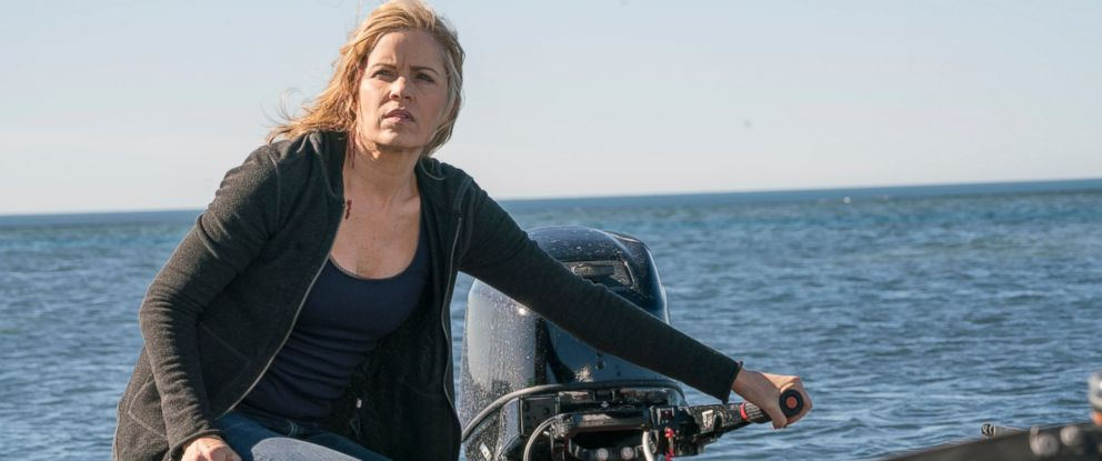 """PHOTO: Kim Dickens as Madison Clark in a scene from AMCs """"Fear The Walking Dead."""""""