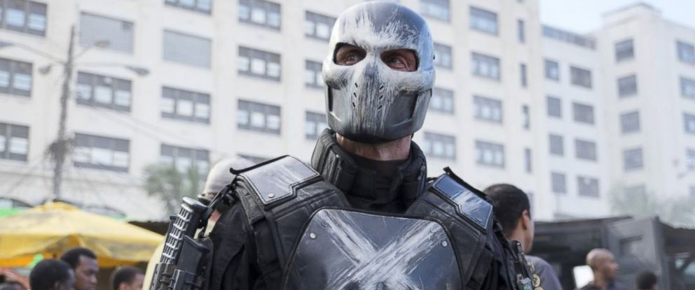 """PHOTO: Frank Grillo is seen in a scene from """"Captain America: Civil War."""""""