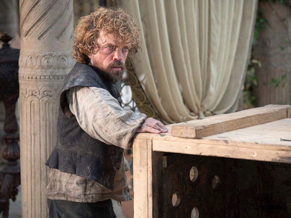 PHOTO: Peter Dinklage as Tyrion Lannister in a scene from season five of Game of Thrones.