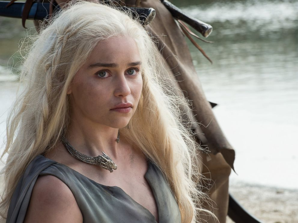 PHOTO:Emilia Clarke as Daenerys Targaryen in a scene from Season 6 of Game of Thrones.