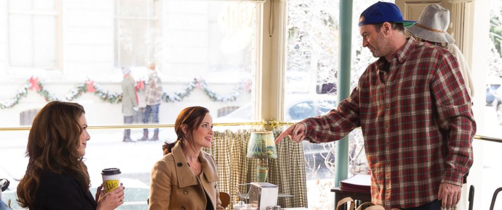 """PHOTO: A still from """"Gilmore Girls: A Year In The Life"""" is seen here."""