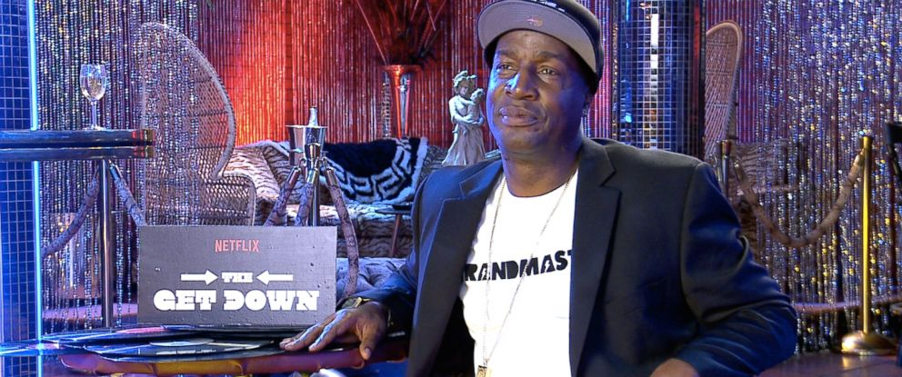 """PHOTO: Grandmaster Flash serves as an associate producer for Baz Luhrmanns """"The Get Down,"""" coming to Netflix August 12."""