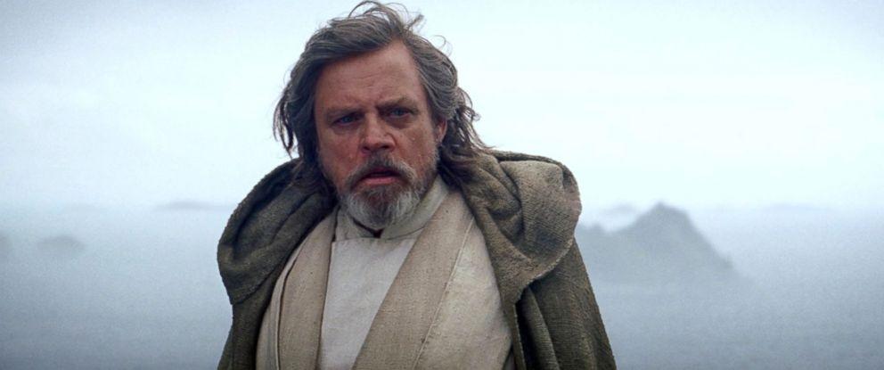 """PHOTO: Mark Hamill as Luke Skywalker in a scene from """"Star Wars: The Force Awakens."""""""