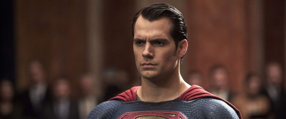 "PHOTO: Henry Cavill as Superman in ""Batman v Superman: Dawn of Justice."""