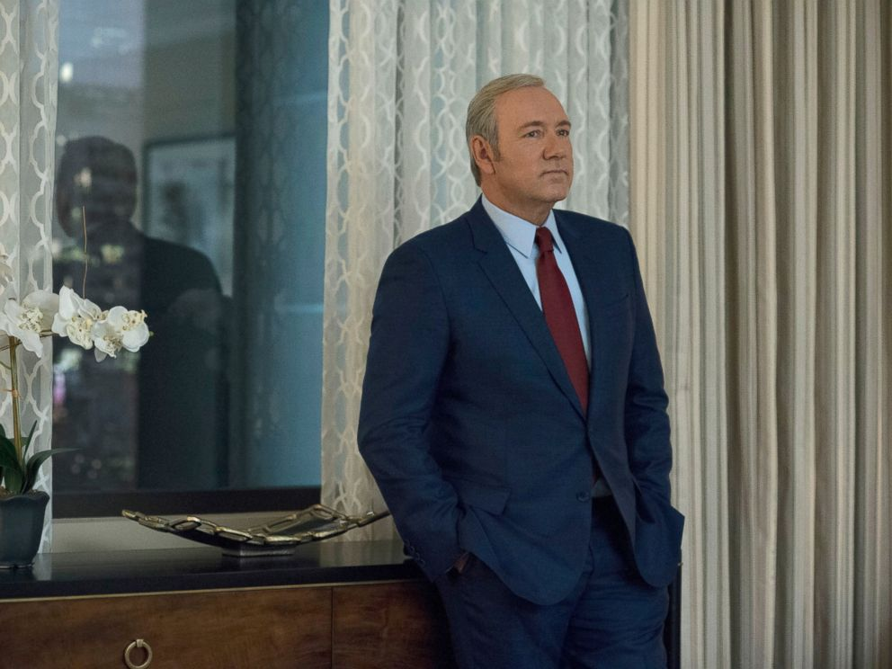 PHOTO: Kevin Spacey in a scene from season 4 of House of Cards.