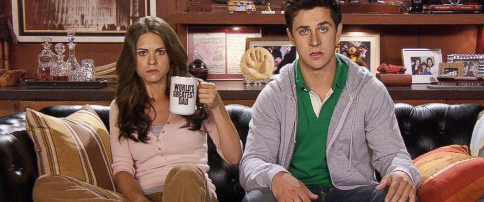 PHOTO: Lyndsy Fonseca and David Henrie in a scene from