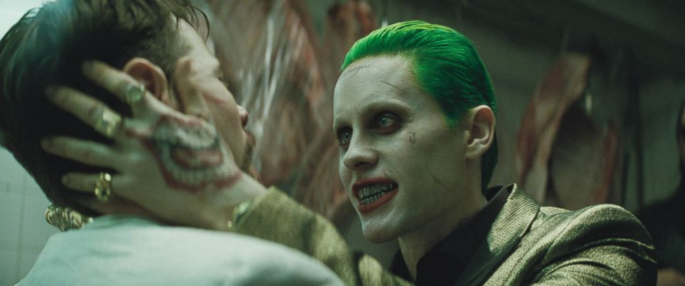 """PHOTO: Jared Leto as the Joker in Warner Bros. Pictures """"Suicide Squad."""""""