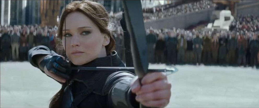 """PHOTO: Jennifer Lawrence appears in the trailer teaser of """"The Hunger Games: Mockingjay Part 2."""""""