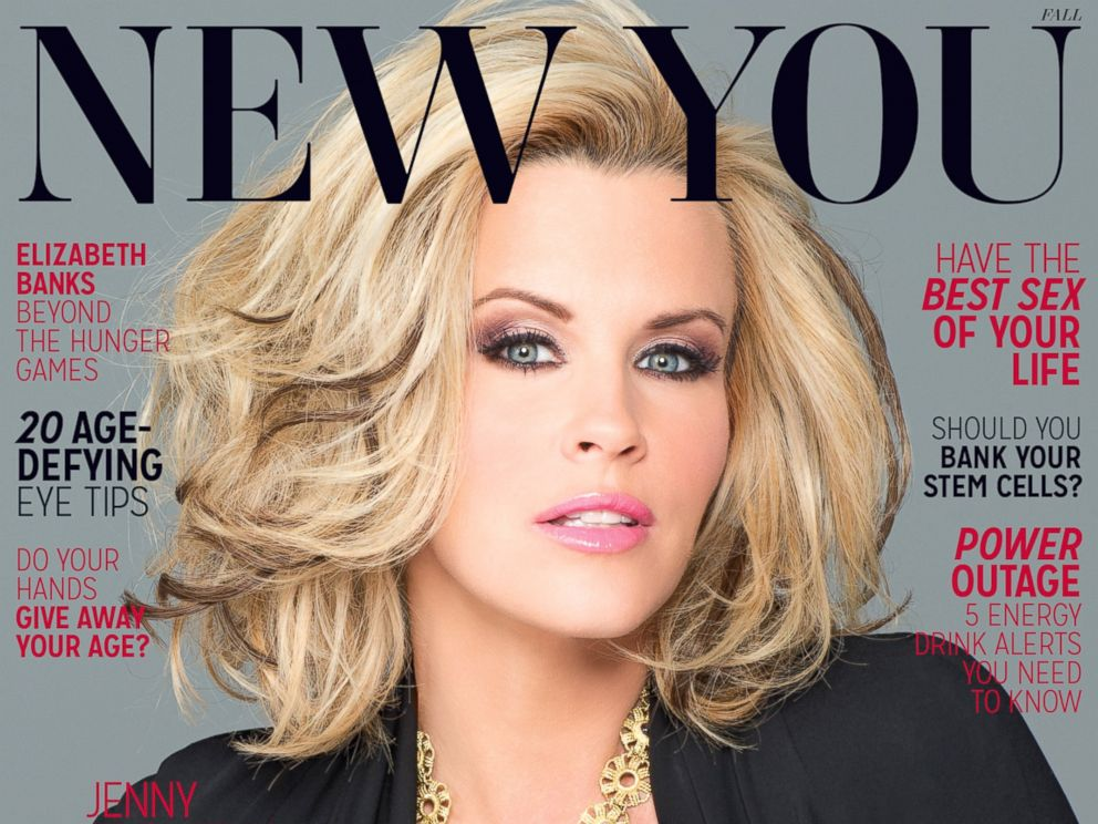 PHOTO: Jenny McCarthy on the cover of the fall issue of New You magazine.
