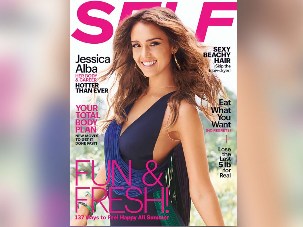 PHOTO: Jessica Alba is glowing on the cover of Self magazines August 2014 issue, on newstands July 29, 2014.