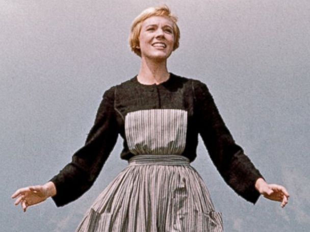 PHOTO: Julie Andrews plays Maria in a scene from the 1965 film The Sound of Music.